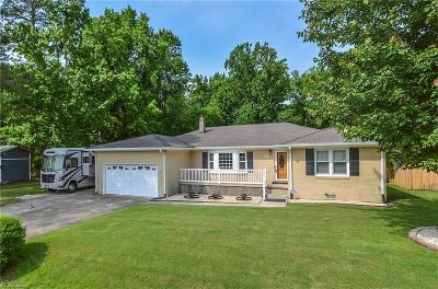 Suffolk Single Family Home For Sale: 1849 Oyster Bay Lane Ln