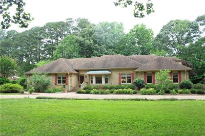 Virginia Beach Single Family Home New Listing: 3072 Little Haven Rd