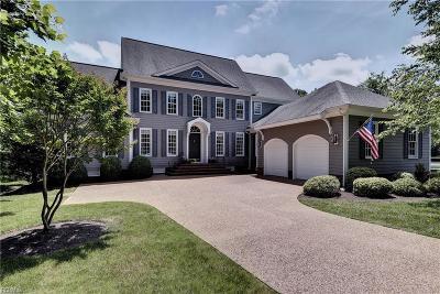 Williamsburg Single Family Home For Sale: 129 Mahogany Rn