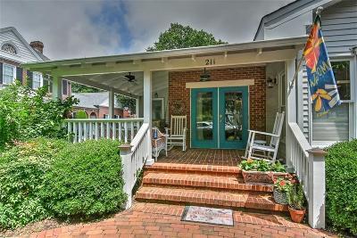 Virginia Beach Single Family Home For Sale: 211 43rd St