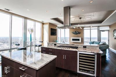 Virginia Beach Single Family Home For Sale: 4545 Commerce St #3601
