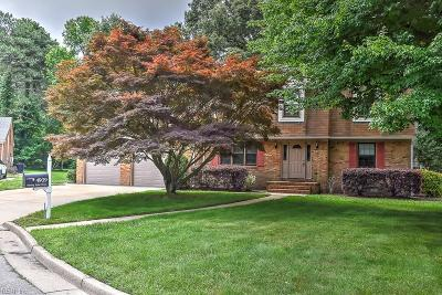 Portsmouth Single Family Home For Sale: 4909 Sterling Point Cir