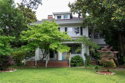 Norfolk Single Family Home New Listing: 4714 Colonial Ave
