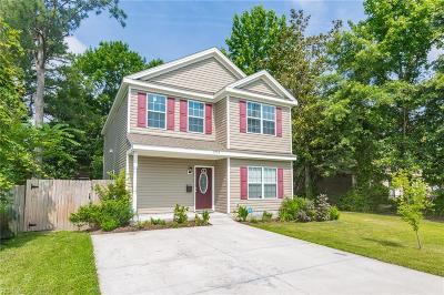 Portsmouth Single Family Home New Listing: 3904 Deep Creek Blvd