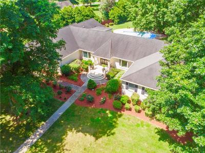 Virginia Beach Single Family Home New Listing: 4336 Country Club Cir