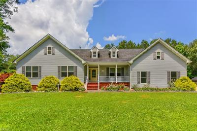 Chesapeake Single Family Home New Listing: 1668 Mount Pleasant Rd