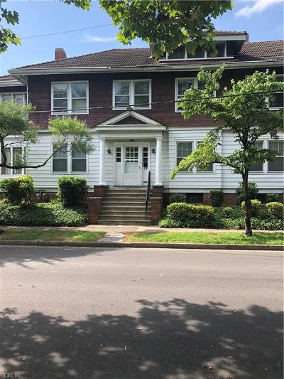 Norfolk Single Family Home New Listing: 1307 Hampton Blvd