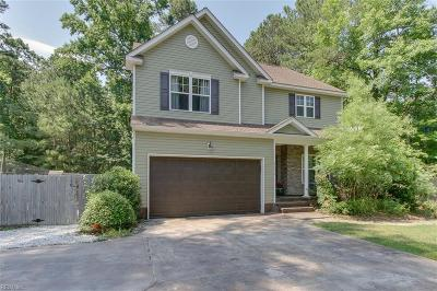 Suffolk Single Family Home New Listing: 4190 Pughsville Rd