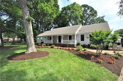 Virginia Beach Single Family Home New Listing: 2500 Maid Marian Cir