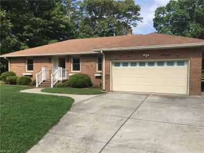 Chesapeake Single Family Home New Listing: 2112 Christopher Dr