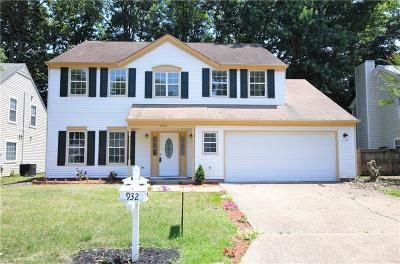 Newport News Single Family Home New Listing: 932 Willbrook Rd