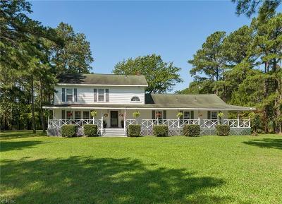 Hampton Single Family Home New Listing: 341 Harris Creek Rd