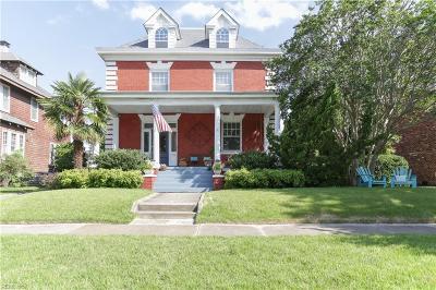 Norfolk Single Family Home For Sale: 224 E 41st St