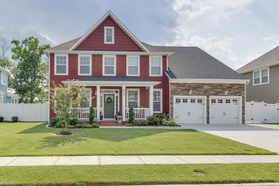 Chesapeake Single Family Home New Listing: 955 Painted Lady Pl