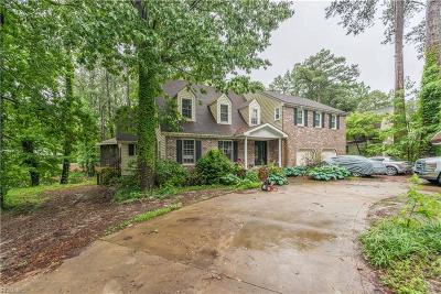 Virginia Beach Single Family Home New Listing: 608 Thalia Rd