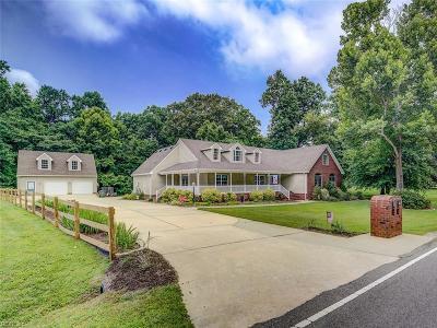 Suffolk Single Family Home New Listing: 4349 Sleepy Hole Rd