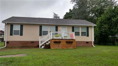 Suffolk Single Family Home New Listing: 1007 Blythewood Ln