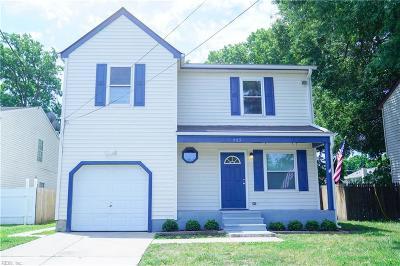 Norfolk Single Family Home New Listing: 963 Avenue J