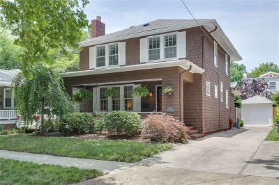 Norfolk Single Family Home New Listing: 916 Brandon Ave