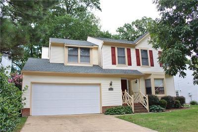 Virginia Beach Single Family Home New Listing: 5460 Club Head Rd