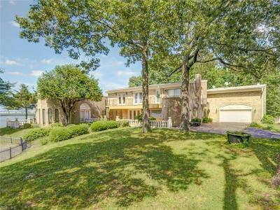 Virginia Beach Single Family Home New Listing: 3858 Little Neck Pt
