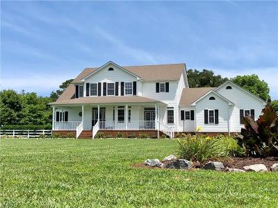 Virginia Beach Single Family Home New Listing: 2728 Shirley Landing Dr