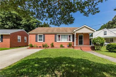 Norfolk Single Family Home New Listing: 8059 Dell St