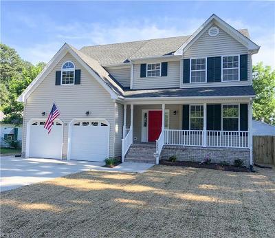 Norfolk Single Family Home New Listing: 5805 Bartee St