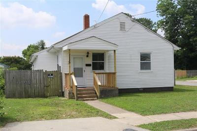 Portsmouth Single Family Home New Listing: 3229 Knox St