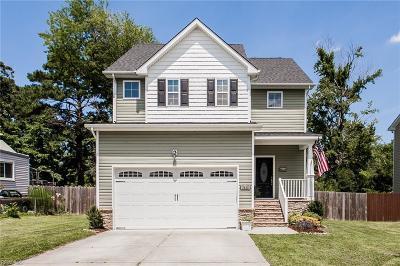 Norfolk Single Family Home New Listing: 3428 East Bonner Dr