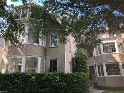 Norfolk Single Family Home New Listing: 800 Graydon Ave #A1