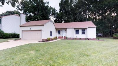 Hampton Single Family Home New Listing: 12 Colonial Acres Dr