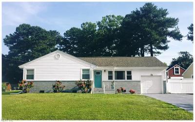 Chesapeake Single Family Home New Listing: 1132 Saint Julian Dr