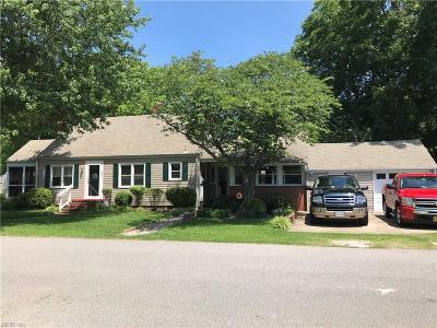 Norfolk Single Family Home New Listing: 8940 Hammett Ave