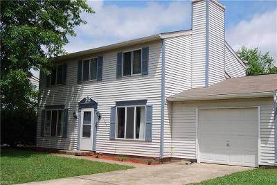 Hampton Single Family Home New Listing: 1302 Hardy Cash Dr