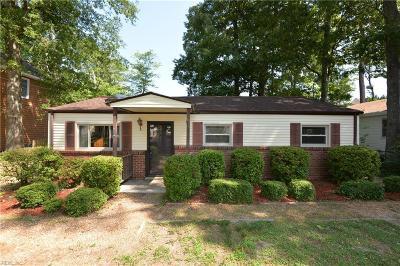 Virginia Beach Single Family Home New Listing: 727 9th St