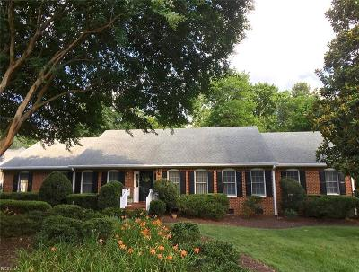 Virginia Beach Single Family Home New Listing: 3121 Audley Way