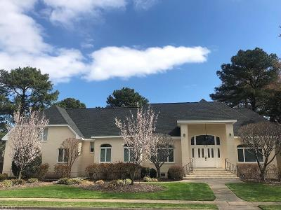 Chesapeake Single Family Home New Listing: 1229 Masters Row
