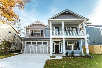 Virginia Beach Single Family Home New Listing: 808 Delaware Ave