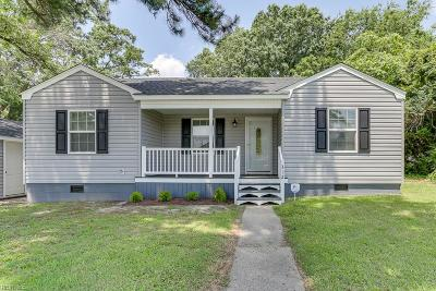Portsmouth Single Family Home New Listing: 312 Cherokee Rd