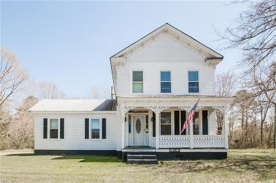 Suffolk Single Family Home New Listing: 349 Great Fork Rd