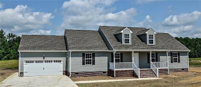 Suffolk Single Family Home New Listing: 5395 Old Myrtle Rd