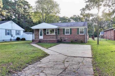 Hampton Single Family Home New Listing: 1726 Old Buckroe Rd