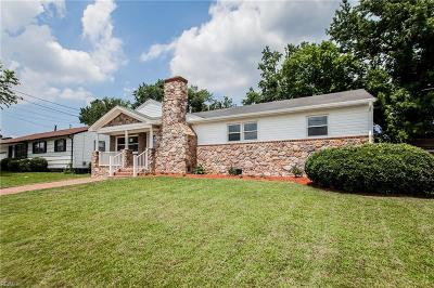 Chesapeake Single Family Home New Listing: 2011 Coral Ave