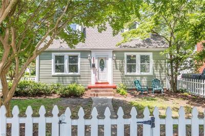Norfolk Single Family Home New Listing: 9201 Granby St
