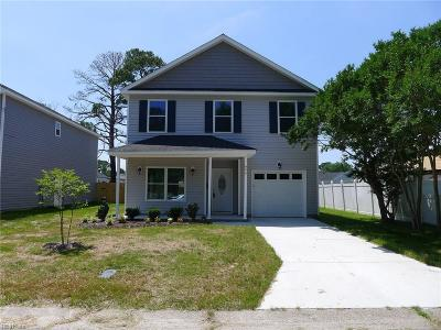 Portsmouth Single Family Home New Listing: 804 Finchley Rd