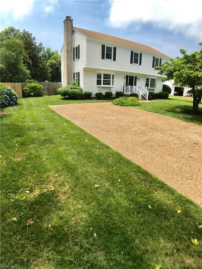 Virginia Beach Single Family Home New Listing: 1325 Laurelfield Ct