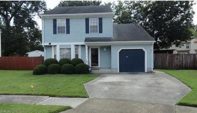 Norfolk Single Family Home New Listing: 7504 Paulin Ct