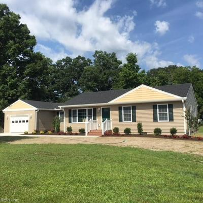 Suffolk Single Family Home New Listing: 1203 Kansas St