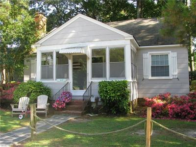 Virginia Beach Single Family Home New Listing: 524 25th St